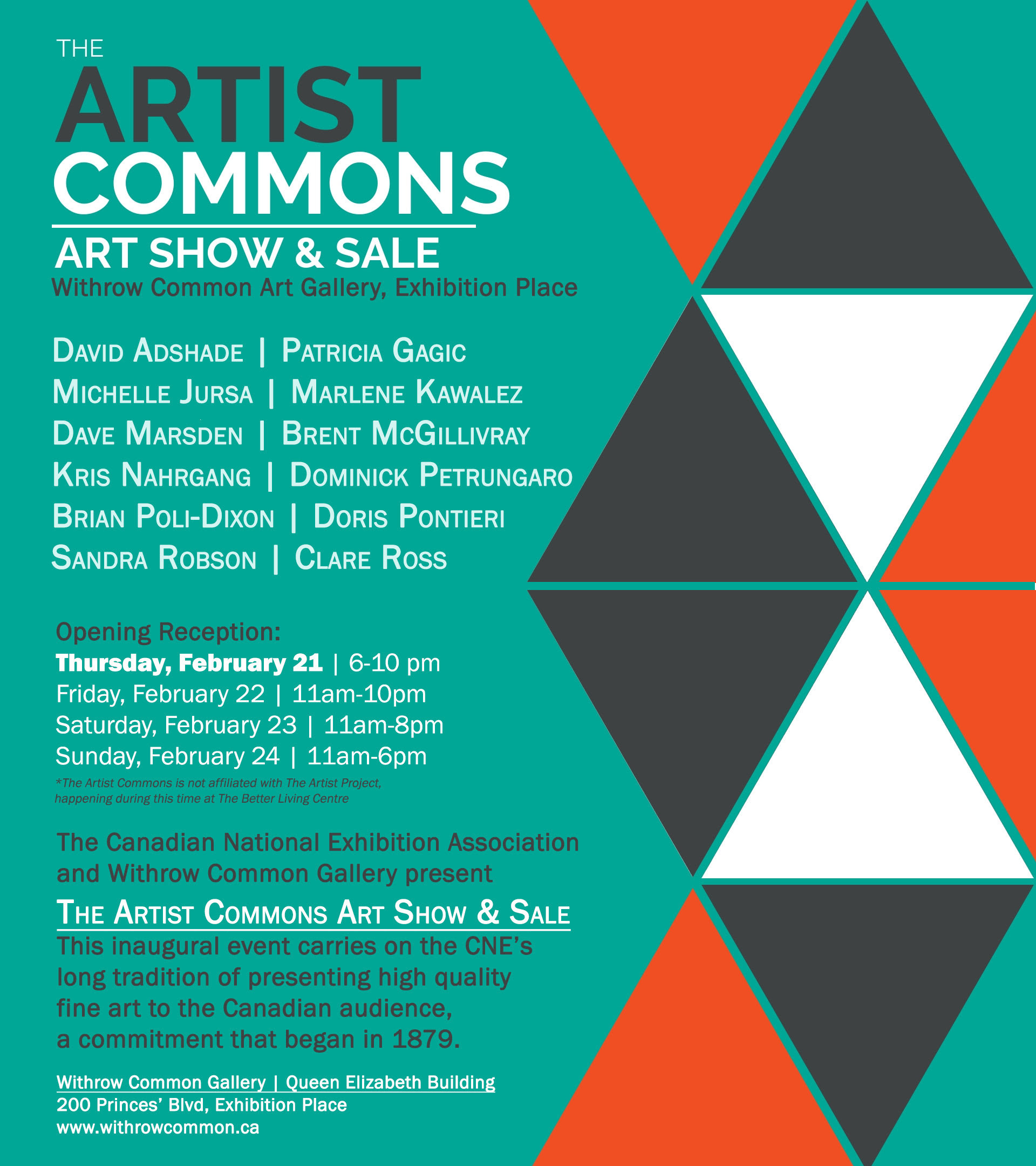 Artist Commons Art Show and Sale