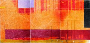 "Mo Jamal, ""NRR Triptych"", 48""x 72"" (each part 48"" x 24""), Colored Pencil, $2000"