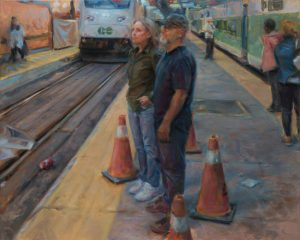 """Steven Volpe, """"Union Station"""" , 36"""" x 45"""", Oil on Canvas, $4950"""